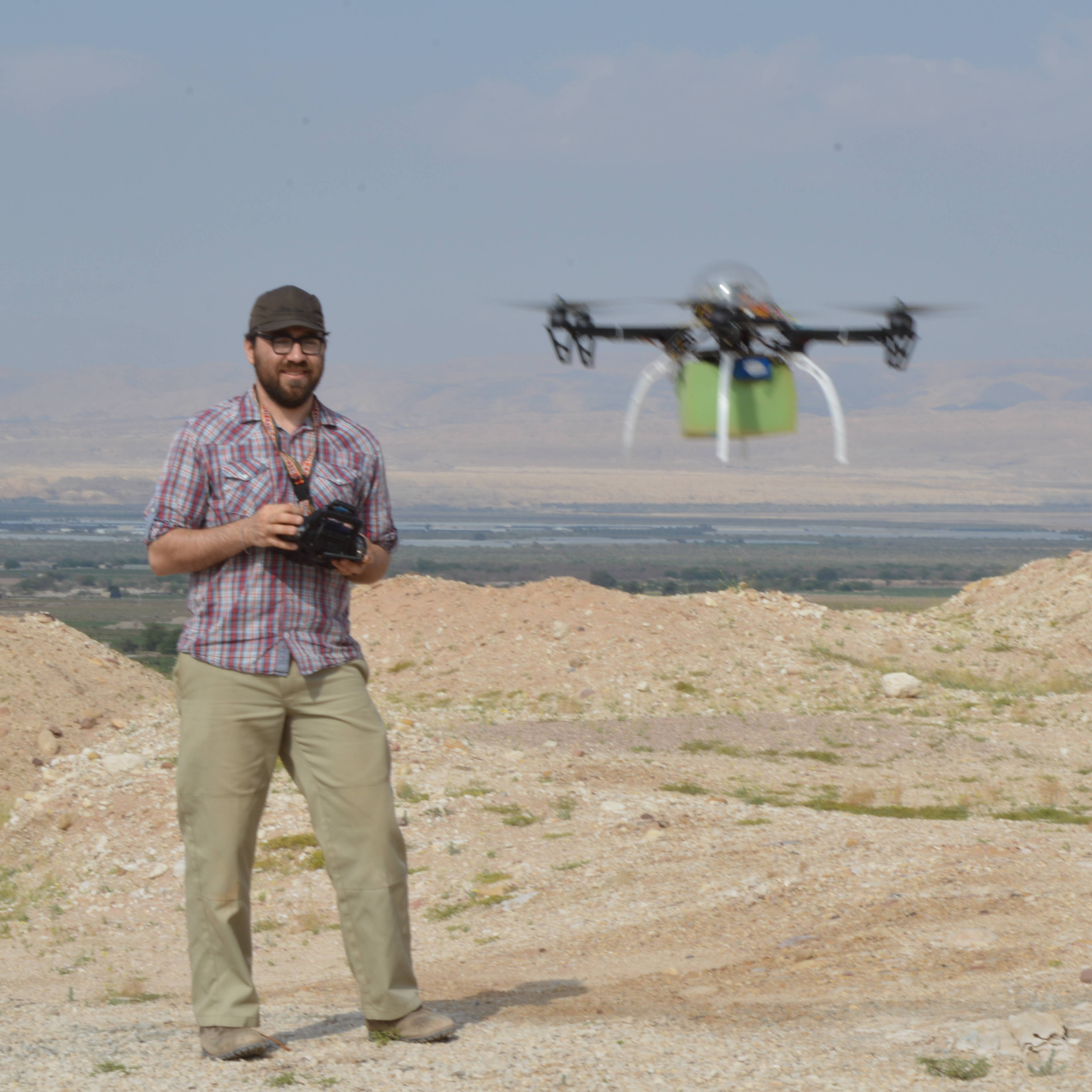 Chad Hill and drone