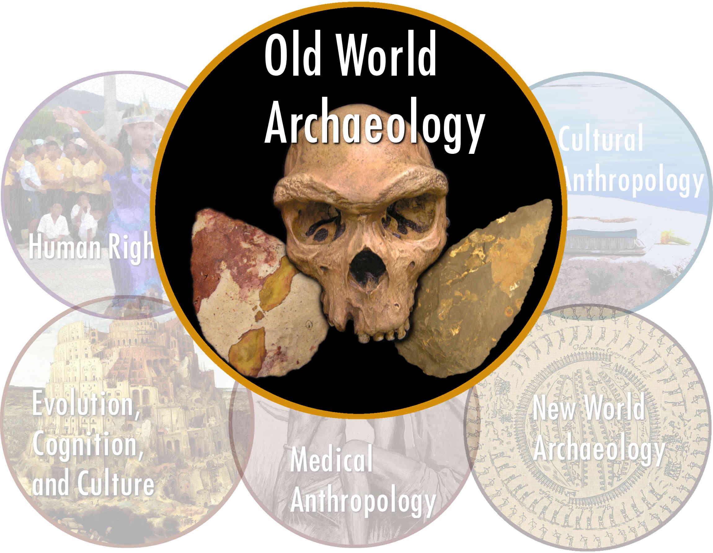 Old world archaeology logo